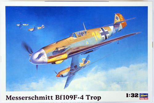 Hasegawa ST31 Messerschmitt Bf109F-4 Trop 1/32 Scale Kit