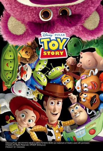 Yanoman Jigsaw Puzzle 99-442 Disney Pixar Toy Story (99 Small Pieces)
