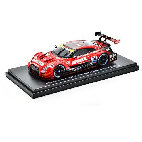 Ebbro 45504 SUPER GT GT500 2017 MOTUL AUTECH GT-R Rd.8 Motegi Winner No.23 1/43