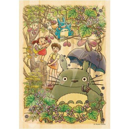 Ensky Wooden Jigsaw Puzzle 208-W208 My Neighbor Totoro Studio Ghibli (208 Pieces)