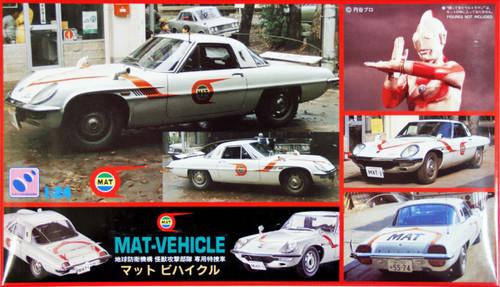 Hasegawa CQ-1 Cosmo Sport MAT-Vehicle 1/24 Scale Kit