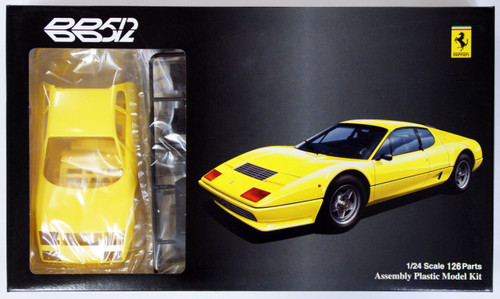 Fujimi RS-SPOT 123301 Ferrari 512BB Yellow Body 1/24 Scale Kit