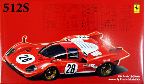 Fujimi RS-SPOT 123851 Ferrari 512S Short Tail 1/24 Scale Kit