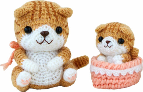 Hamanaka H301-516 Amigurumi (Crochet Doll) Kit Scottish Fold