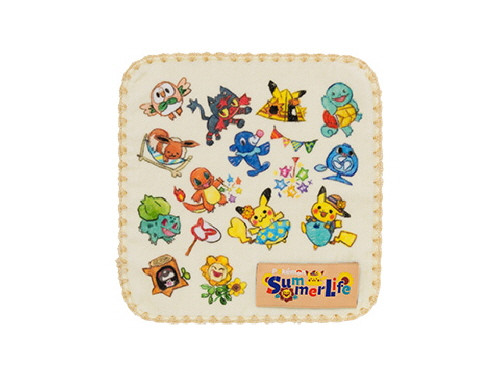 Pokemon Center Original Petit Towel Summer Life 713-