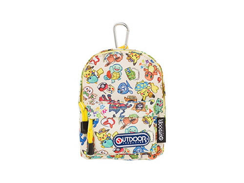 Pokemon Center Original OUTDOOR Backpack-shaped Pouch Summer Life 713-