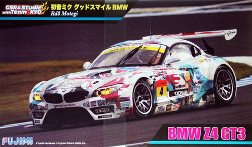 Fujimi 189857 BMW Z4 GT3 Hatsune Miku Good Smile (Rd8 Motegi) 1/24 Scale Kit