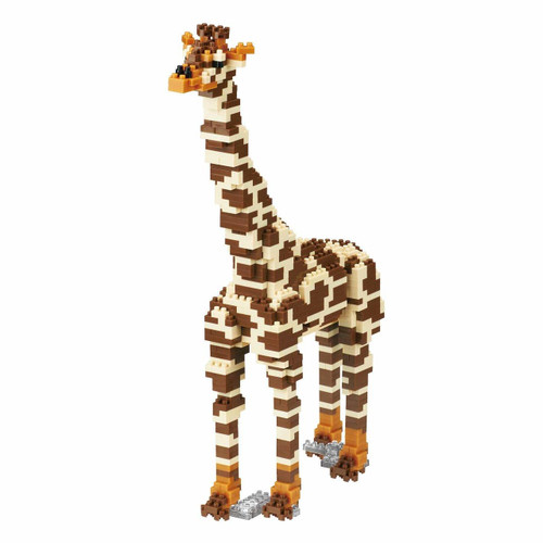 Kawada NBM-022 Nanoblock Animal DX Giraffe