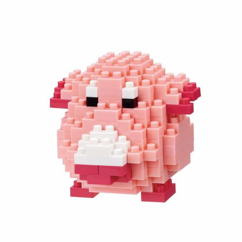 Kawada NBPM-034 nanoblock Pokemon Chansey (Lucky)