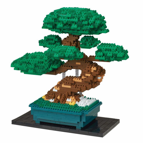 Kawada NB-039 nanoblock Bonsai Matsu (Pine Tree) Deluxe Edition