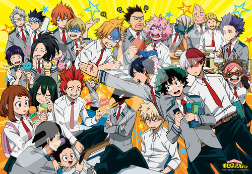 Ensky Jigsaw Puzzle 1000T-101 My Hero Academia OUR SCHOOL LIFE (1000 Pieces)