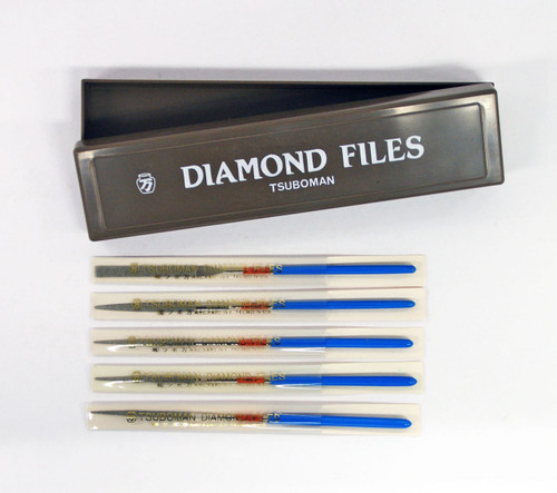 TSUBOMAN 10S-Set Precision Diamond Needle Files 5 pcs Set SYU