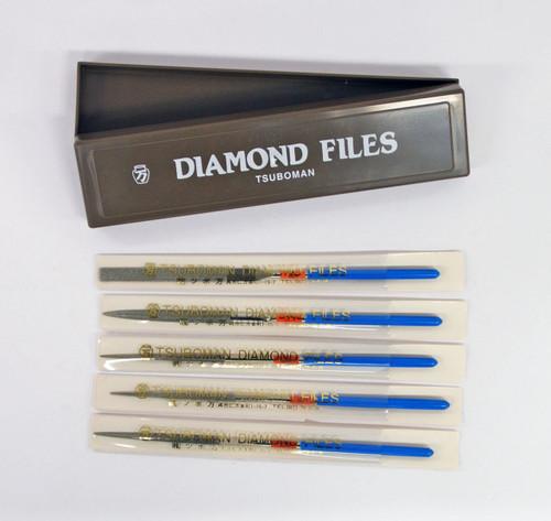 TSUBOMAN 5S-Set Precision Diamond Needle Files 5 pcs Set SYU