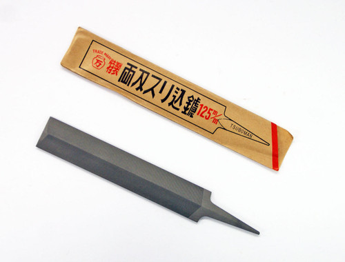 TSUBOMAN Feather Edge Saw File 125 mm SYU