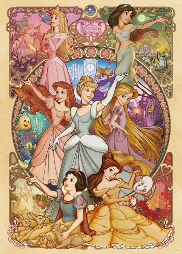 Tenyo Japan Jigsaw Puzzle D-2000-623 Disney Princess (2000 Pieces)
