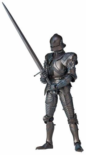 Kaiyodo Takeyashiki Jizai Okimono 15th Century Gothic Style Field Armor (Bronze) Figure
