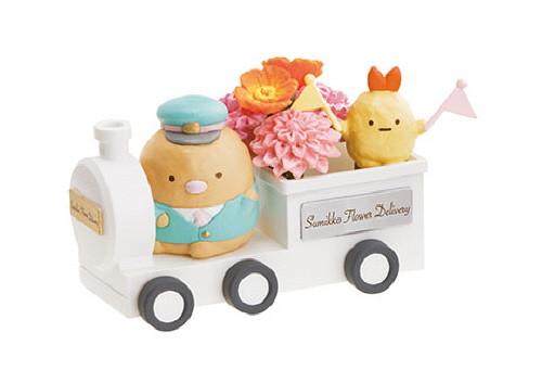 Re-ment 171883 Sumikko Gurashi Flower Delivery 1 BOX 6 Figures Complete Set