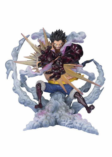 Bandai Figuarts ZERO Monkey D. Luffy Fourth Gear Lion Bazooka Figure (One Piece)