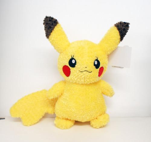 Pokemon Center Original Plush Doll Pikachu's Closet (Female) 721