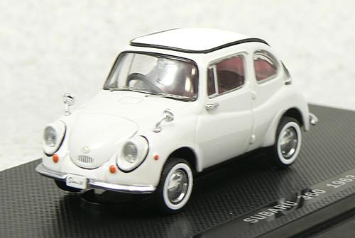 Ebbro 43074 Subaru 360 1963 (Gray) 1/43 Scale