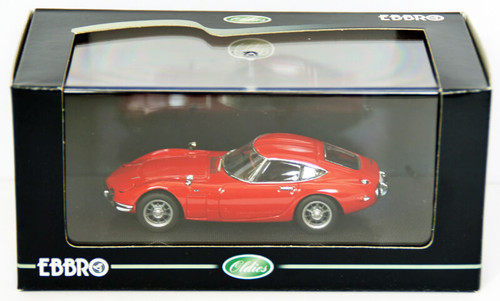 Ebbro 43105 Toyota 2000GT 1967 (Red) 1/43 Scale