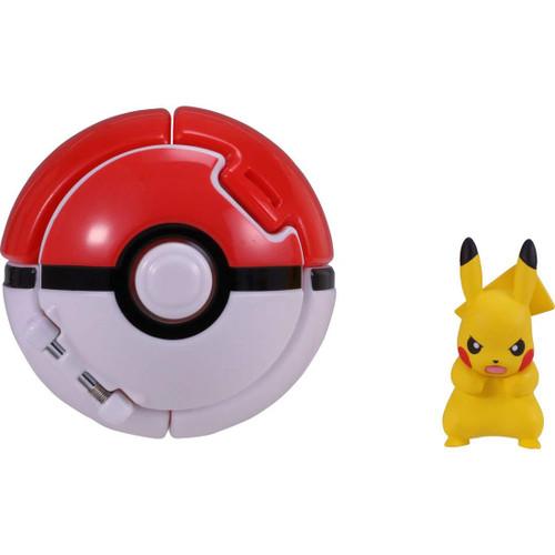 Takara Tomy Pokemon Moncolle Poke Del-Z Pikachu & Poke Ball