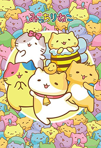 Beverly Jigsaw Puzzle 93-136 Japanese Anime Mitchiri Neko Cat (300 Pieces)