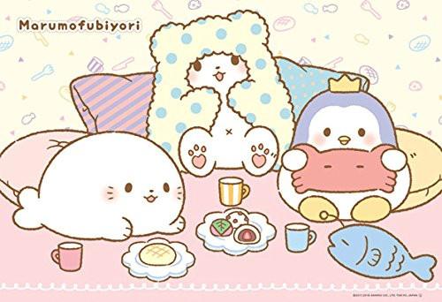 Beverly Jigsaw Puzzle 33-155 Sanrio Marumofubiyori Snack Time (300 Pieces)