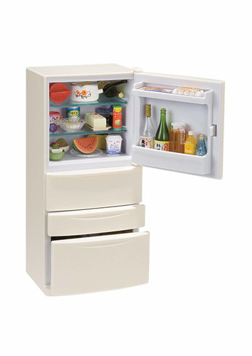 Re-ment 505213 Refrigerator Set