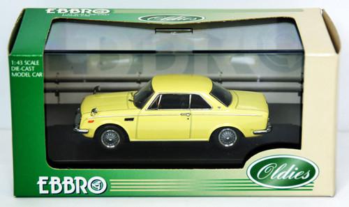 Ebbro 43365 Toyota 1600GT 5 (Yellow) 1/43 Scale
