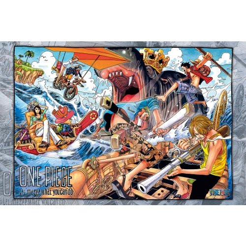 Ensky Jigsaw Puzzle 1000-577 One Piece Memory of Artwork Vol.3 (1000 Pieces)