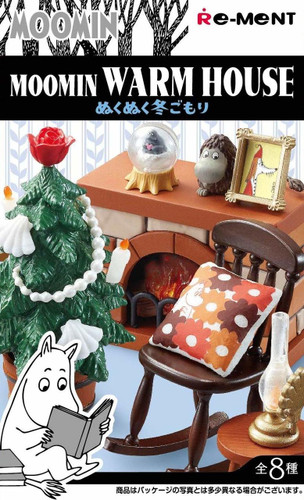 Re-ment 203591 Moomin Warm House Winter 1 BOX 8 Figures Complete Set
