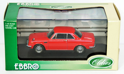 Ebbro 43367 Toyota 1600GT 5 (Red) 1/43 Scale