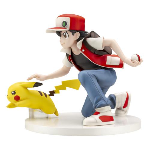 Kotobukiya Pokemon Center Original Red & Pikachu 1/8 Scale Figure