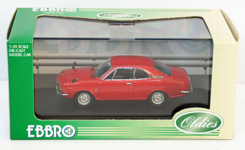 Ebbro 43416 Honda Coupe 9S 1970 (Air Cooled) (Red) 1/43 Scale