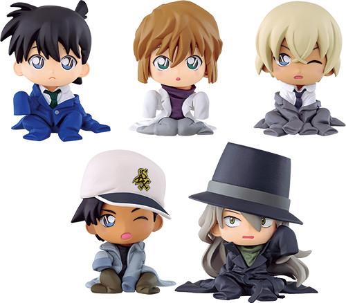 Bandai 327431 Detective Conan Chijimase-tai Figure Series 2 1 BOX 10 Set