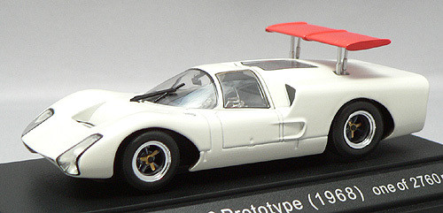 Ebbro 43493 Nissan R381 Coupe (White) 1/43 Scale