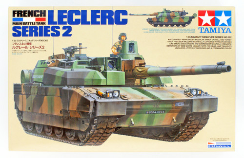 Tamiya 35362 French Main Battle Tank Leclerc Series 2 1/35 Scale Kit