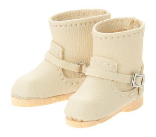 Azone AKT112-BEG Double Buckle Boots Beige