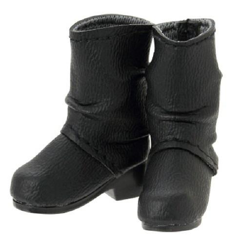 Azone AKT113-BLK Crease Engineer Boots Black