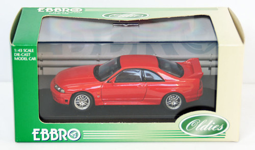 Ebbro 43585 Nissan Skyline GT-R R33 (Red) 1/43 Scale