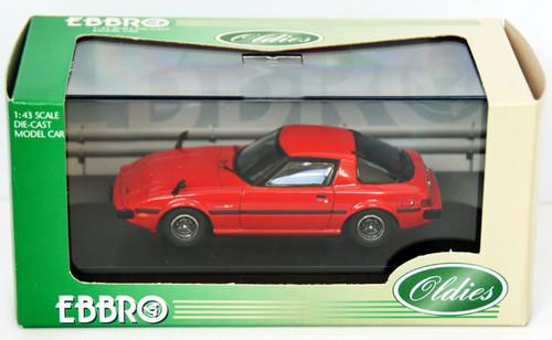 Ebbro 43588 Mazda Savanna RX7 GT (Red) 1/43 Scale