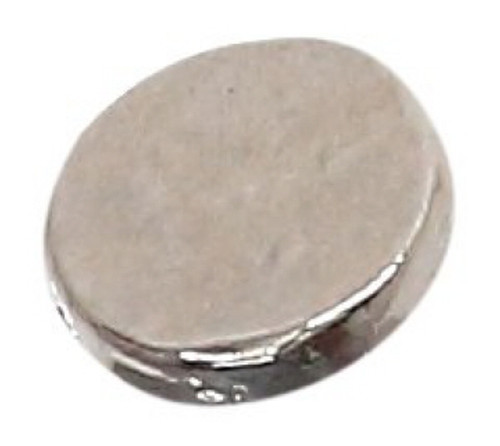 Azone AMP111-SLV Azone Original 5mm Flat Button Silver