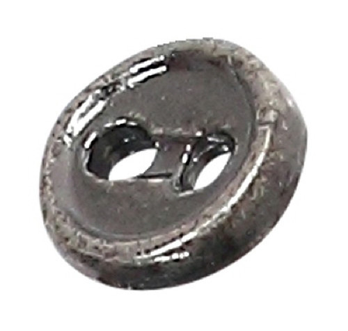 Azone AMP116-ASV Azone Original 4mm Two-Hole Metal Button Antique Silver