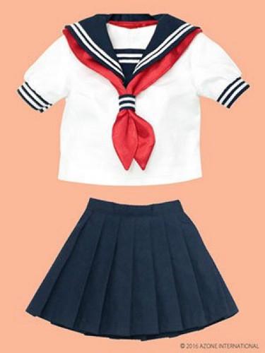 Azone FAO035-NVR Azo 2 Sailor Summer Set Set Navy x Red