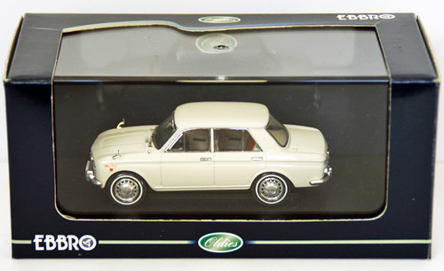 Ebbro 43641 NISSAN BLUEBIRD 410 1964 White 1/43 Scale
