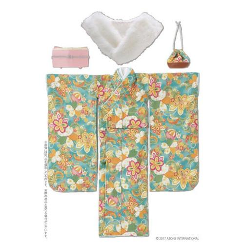Azone FAO086-GRN Azo 2 Kimono Set Moe Yellow Color