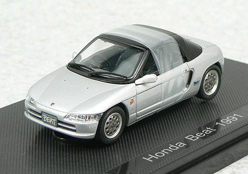 Ebbro 43646 Honda Beat 1991 Silver 1/43 Scale