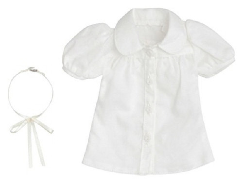 Azone FAR217-WHT for 50cm doll Simple Blouse Set White