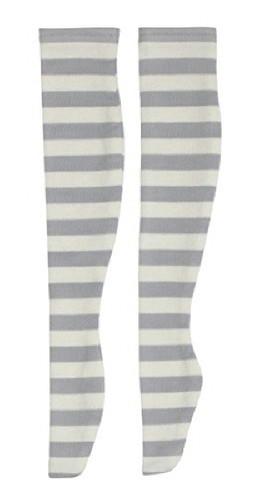 Azone FAR222-WHG for 50cm doll Dark Border Thigh Thighs White x Gray